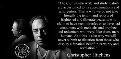 You are dearly missed, Hitch.