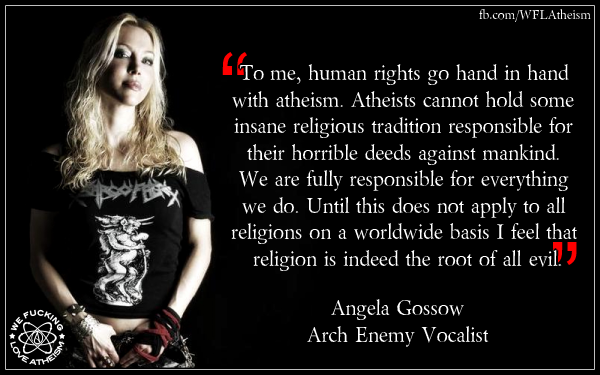 Root of all evil | We Fucking Love Atheism