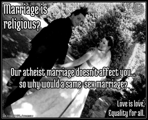 weddingatheist